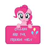 CAFFO- Art Status -Pinkie Pie by SunsetMajka626