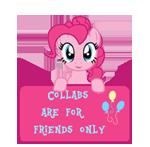 CAFFO- Art Status -Pinkie Pie by MajkaShinoda626