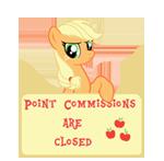 PCAC- Art Status -Applejack by Fluttershy626