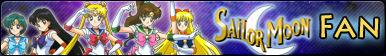 Sailor Moon -Fan button