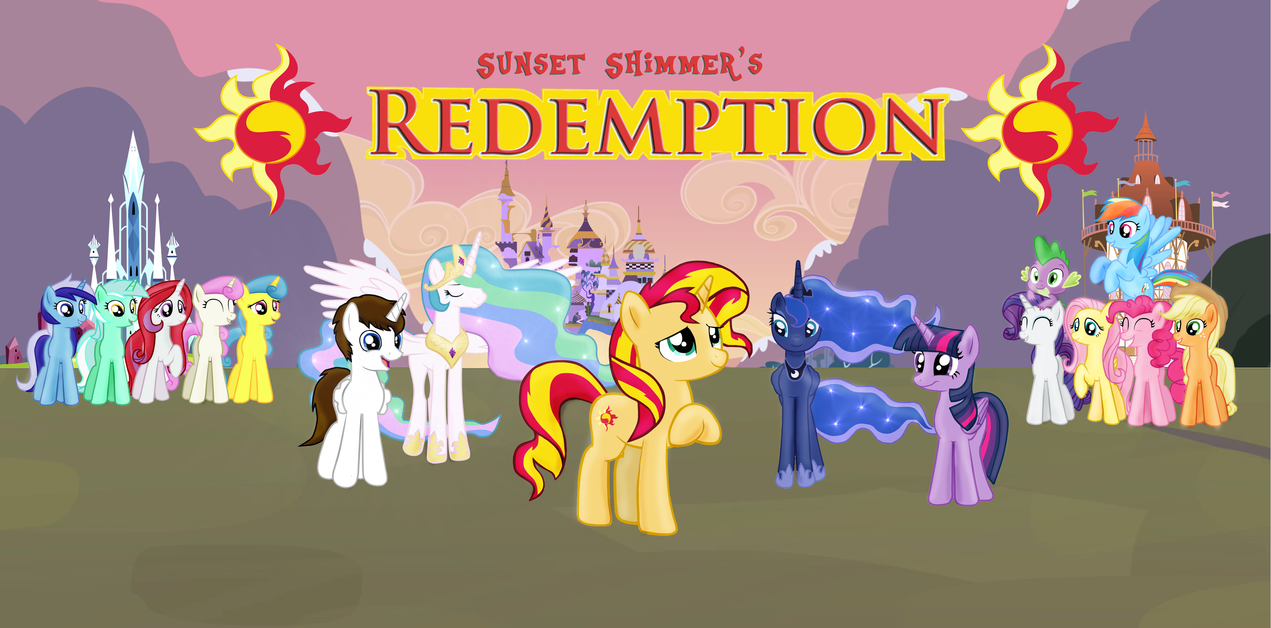 Sunset Shimmer's Redemption -Cover