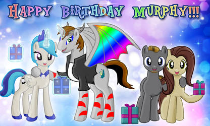 Happy Birthday, Murphy!