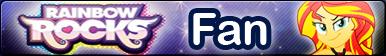 Rainbow Rocks -Fan button by Fluttershy626