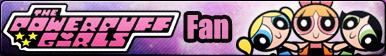 Powerpuff Girls -Fan button