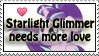 Starlight needs love -stamp by MajkaShinoda626