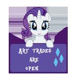 ATAO -Rarity -Art Status by MajkaShinoda626