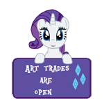 ATAO -Rarity -Art Status by SunsetMajka626