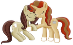 Me and my mom -ponies