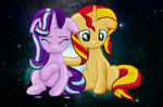 Two sad mares