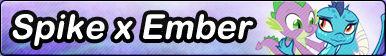Spike x Ember -Fan button