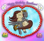 A Birthday hug of love