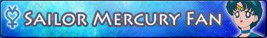 Sailor Mercury -Fan button