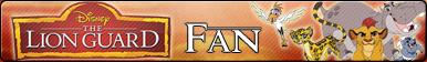 The Lion Guard -Fan button