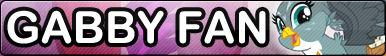 Gabby -Fan button