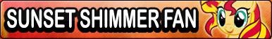 Sunset Shimmer -Fan button by SunsetMajka626