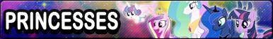 Princesses -Fan button by SunsetMajka626