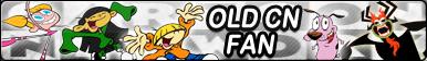 Old Cartoon Network -Fan button