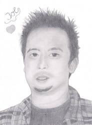 Joe Hahn -Birthday gift by MajkaShinoda626