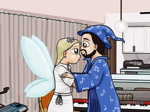 Wizard and fairy