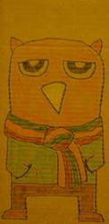 owlman 4: owlman baby. by accostedllama