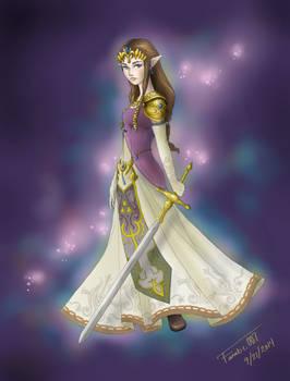Zelda [Twilight Princess] Colored - FINISHED!!
