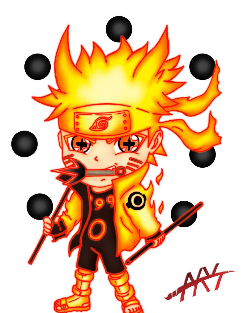 Naruto Bijuu Mode Chibi