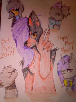 HAPPY NEW YEAR!!! by xXLunarEclipse2004Xx
