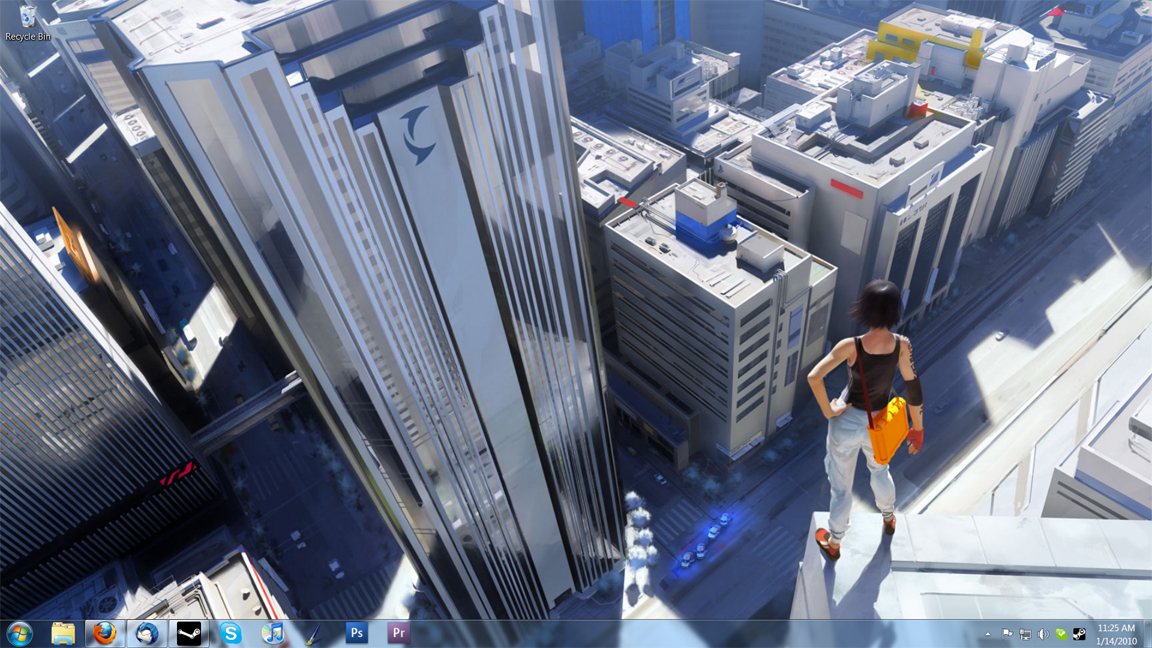 Mirror's Edge Desktop by Inaaca