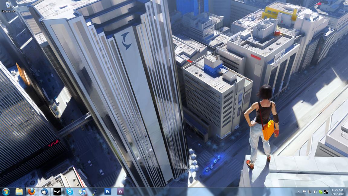 Mirror's Edge Desktop by Inaaca