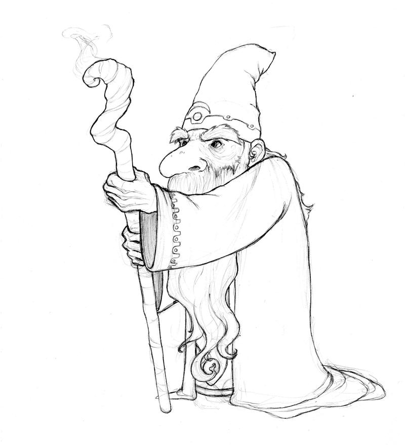 Gnome Wizard by Inaaca