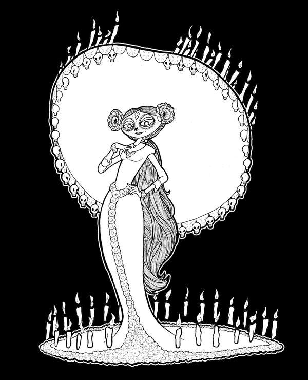 La Muerte by Inaaca