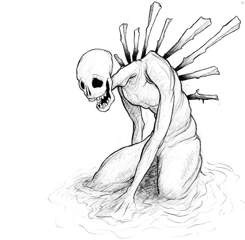 Sinking by spsillustration