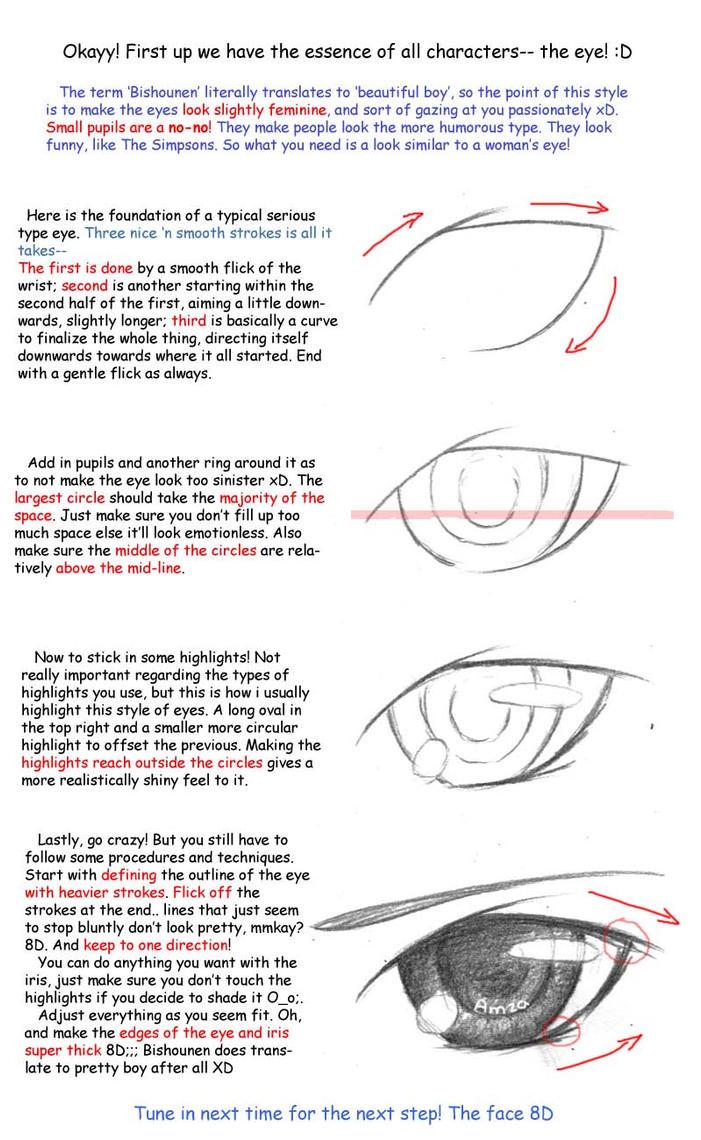 Bishie Eye Tutorial By Looneh
