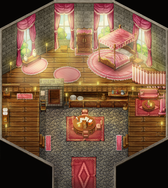Good Dragonboy: Bedroom By PinkFireFly ...