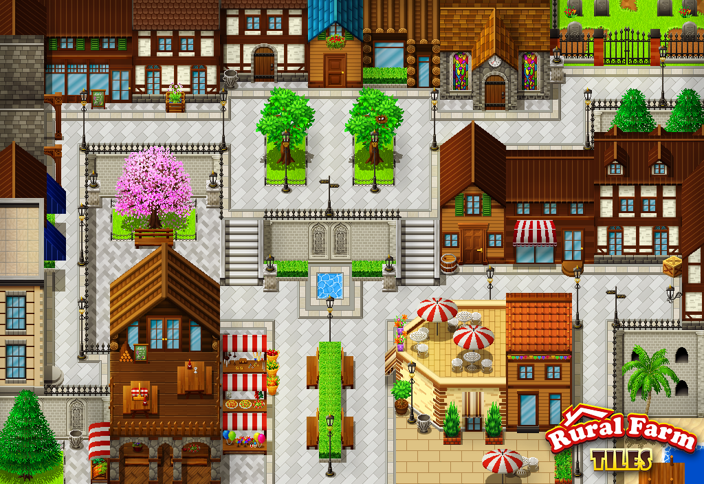Rural Farm Tiles Screenshot 3 By Pinkfirefly On Deviantart