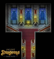 Ancient Dungeons: Castle Corridor by PinkFireFly