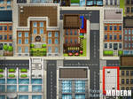 Fantastic Buildings: Modern by PinkFireFly