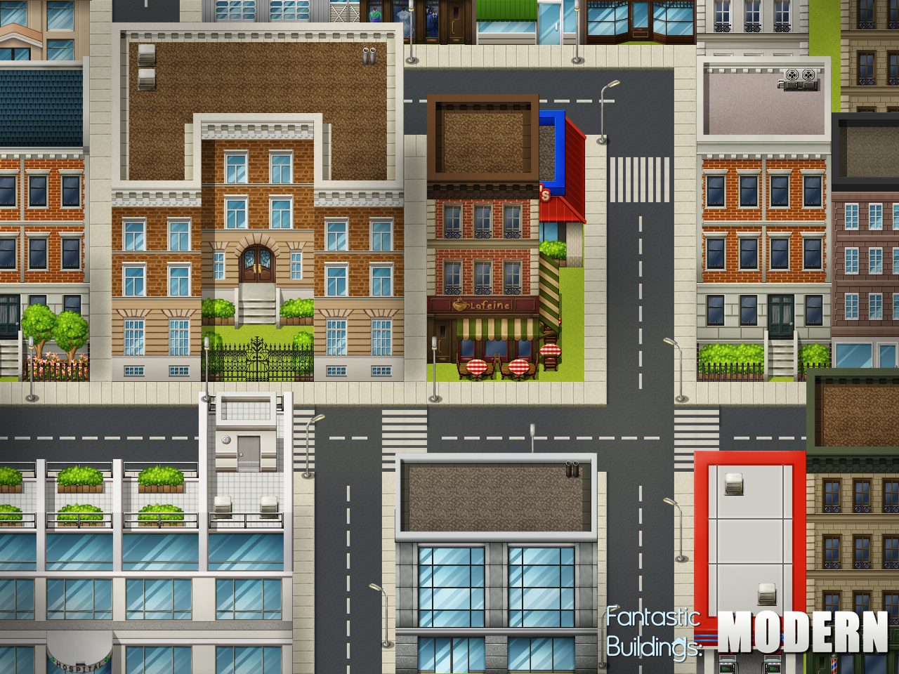 Fantastic buildings modern by pinkfirefly on deviantart for Apartment complex map maker