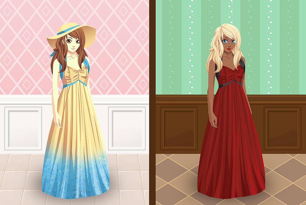 Dressing room mockup by PinkFireFly