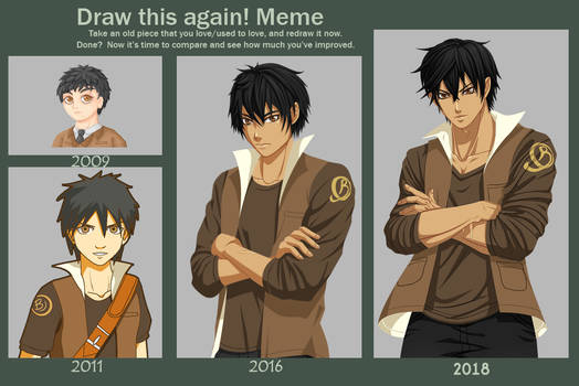 Draw This Again Meme (James)