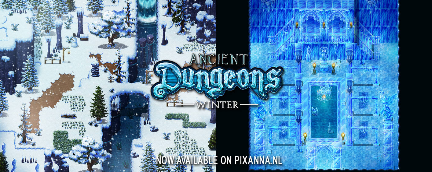 Ancient Dungeons: Winter tileset