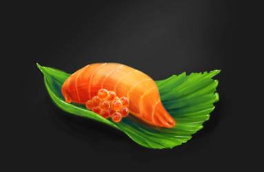 Speedpainting sushi