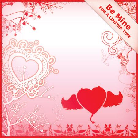 Valentines Day Brush Set by jdjohnson