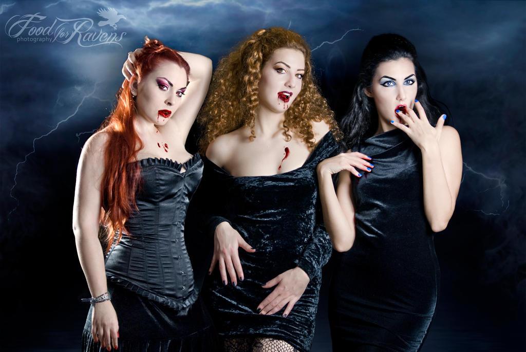 Dracula's Brides II by LadyBranwick