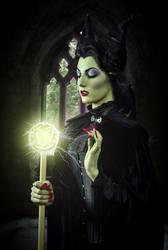 Maleficent by LadyBranwick