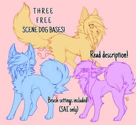 F2U Scene Dog Bases! (READ DESCRIPTION) by EmiIee