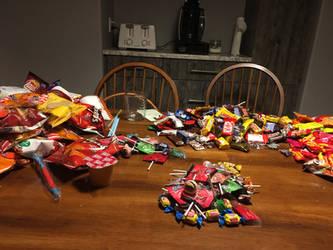 Halloween candy by BDogCrazy