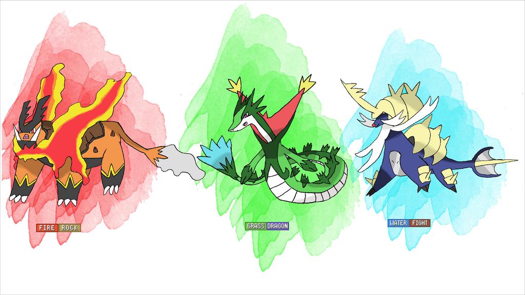 Mega Kalos Starters Pokemon Images | Pokemon Images