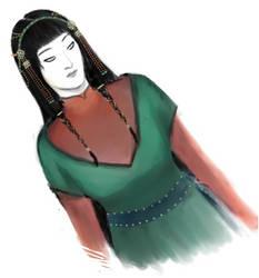 The Wife of Sabaku by Aifsaath