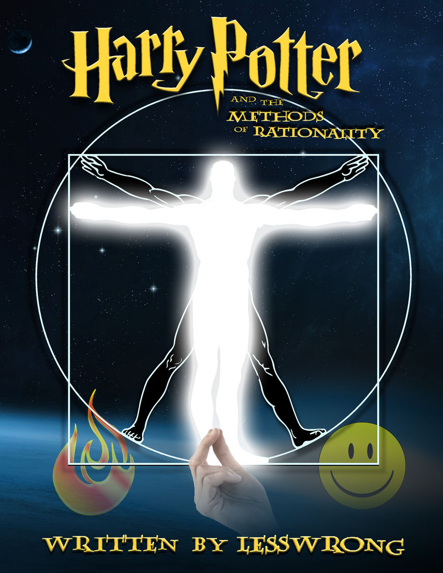 Harry Potter and the Methods of Rationality Cover